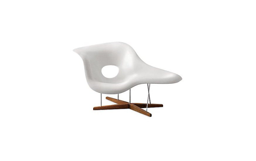 Eames La Chaise side-chair Design Within Reach 59  X 34.5  sc 1 st  Modsy : eames la chaise - Sectionals, Sofas & Couches