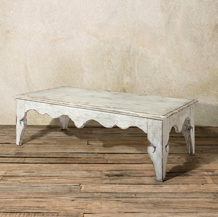 Avant 60 Coffee Table White Satin Coffee Table Arhaus 60
