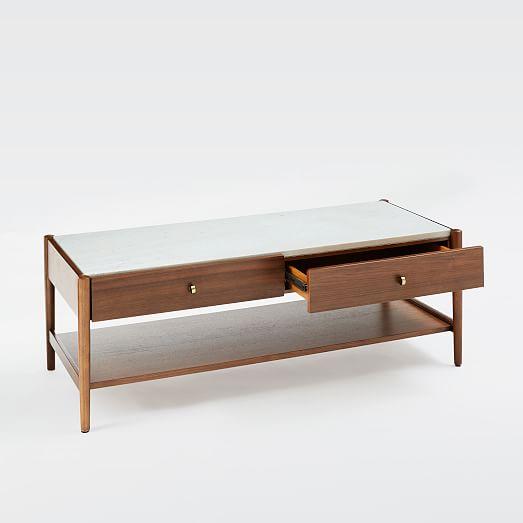 robbins midcentury storage coffee table coffeetable west elm 48