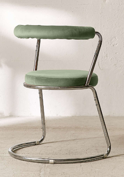 chair urban outfitters. avery velvet dining chair, dark green, dining-chair, urban outfitters, 22.4 chair outfitters