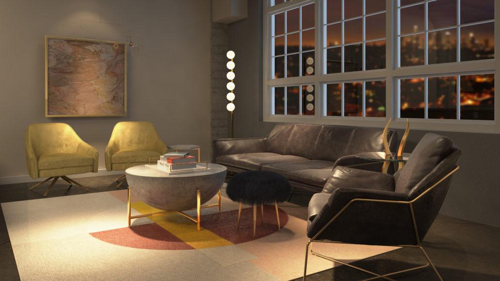 Boho Glam Wonderland: Give Your Hollywood Glam Living Room A Bohemian  Twistt, Living Room